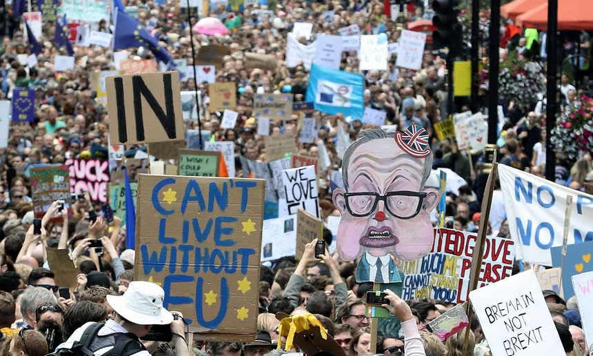 Rally for European Union, August 2016 Source: Dan Kitwood, Getty Images